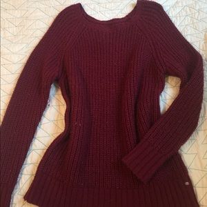Burgundy Slouchy Sweater ✨5 for $25